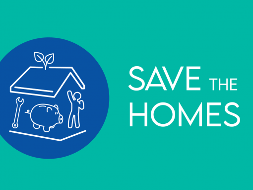 <b>Save The Homes</b><br>One-Stop Shops as Citizens' Hubs to support the decision-making process for integrated renovations